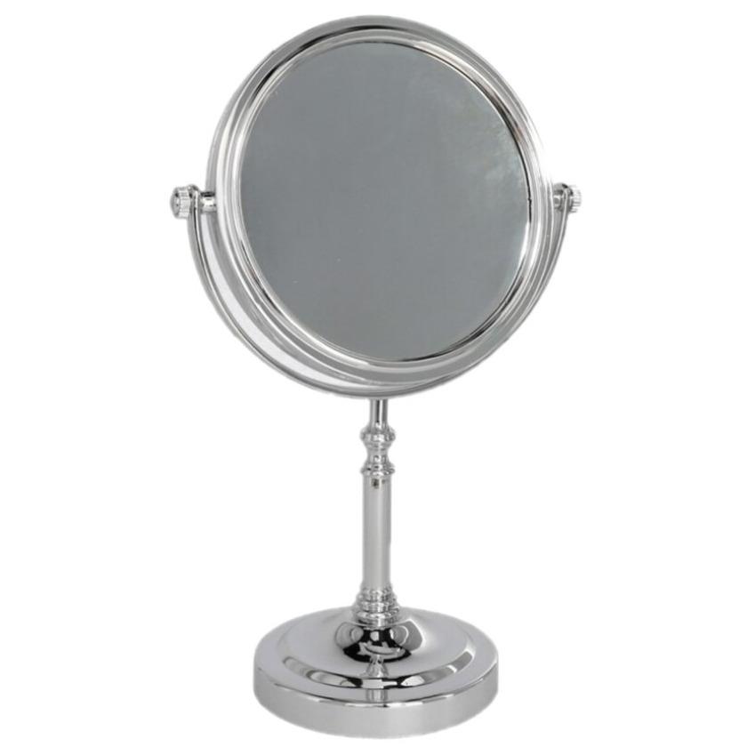 Make up spiegeltje op standaard 16 cm diameter